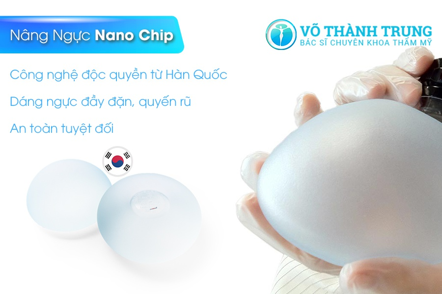 Túi ngực nano chip có độ bền cao (ảnh minh họa)
