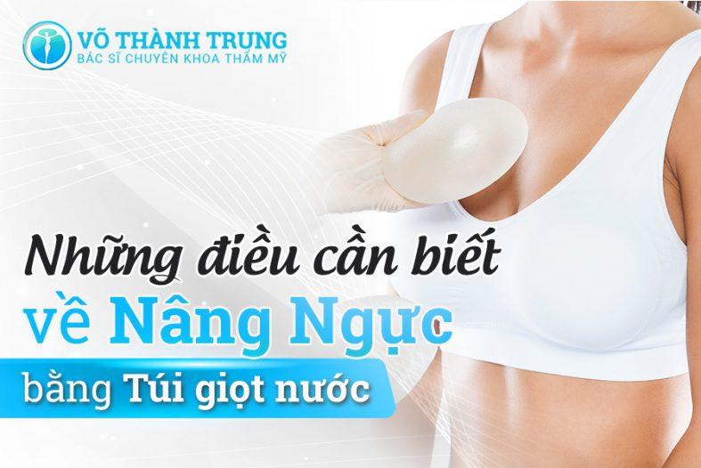 Nhung Dieu Can Biet Ve Nang Nguc Bang Tui Giot Nuoc