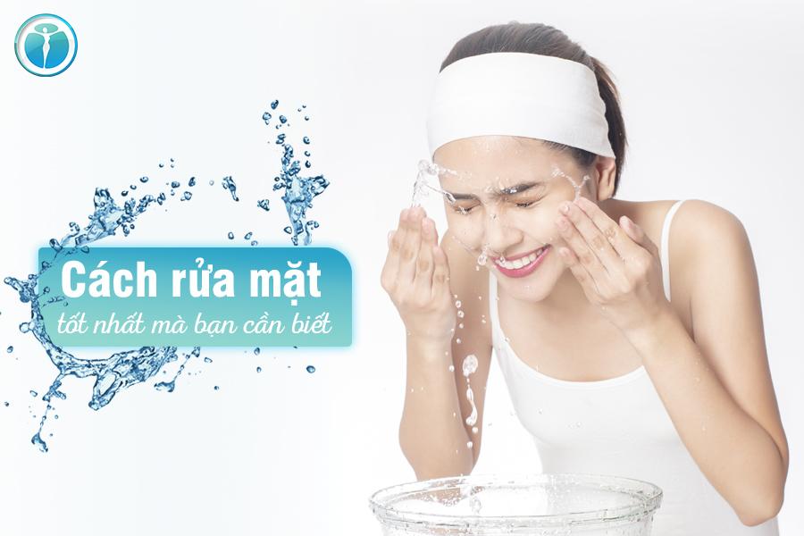cách rửa mặt